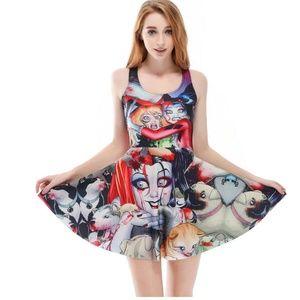 Skater Dress Harley Quinn & Poison Ivy